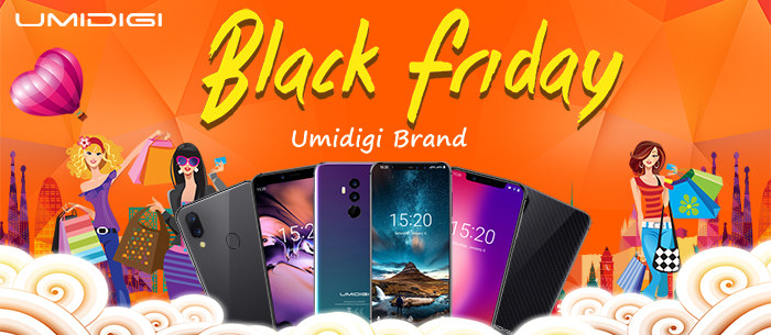UMIDIGI Series Smartphone Super Offers Only on Black Friday