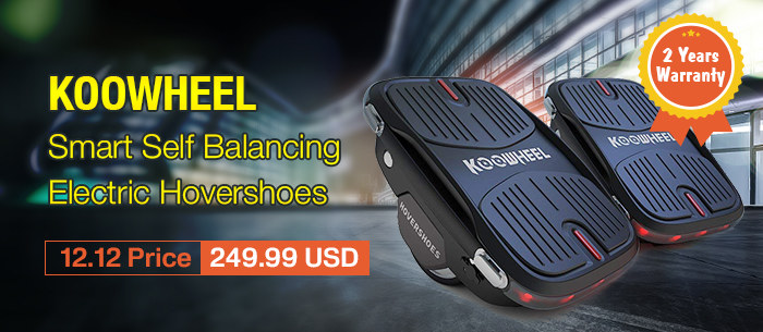 KOOWHEEL Smart Self Balancing Electric Hovershoes