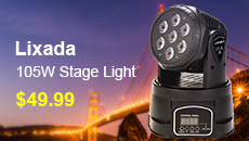 Lixada 105W Stage Light