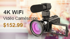 4K WiFi Video Camcorder