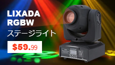 Lixada RGBW Stage Light