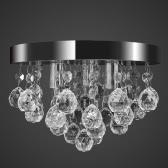 シーリングランプシャンデリアペンダントランプクリスタルランプクローム光
