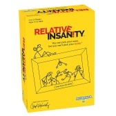 PlayMonster Relative Insanity Crazy Party Game Puzzle Card