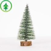 محاكاة مصغرة شجرة عيد الميلاد مستلزمات ديكور سطح المكتب 8cm * 20cm