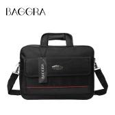 New Oxford Laptop Bag unisexe imperméable à double fermeture éclair velcro Pocket Grab Poignée d