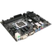 Colorful Guerrier C.H110M-K V20A Carte mère Mainboard Systemboard pour Intel LGA 1151 DDR4 SATA3 USB3.0 mATX PCI-E 3.0 pour PC de bureau