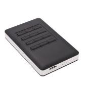 "Godo Super Speed 2.5 ""SATA SSD HDD unidad de disco duro USB 3.0 a 5 Gbps contraseña cifrada recinto del convertidor del adaptador de tarjetas externo caja portadiscos + Cable USB"