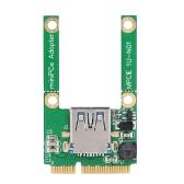 Convertisseur Adaptateur Mini Pci-e vers USB3.0 pour ordinateur portable