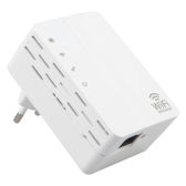 WD-R607U 300Mbps WiFi Repeater Wireless Range Extender Signal Booster Amplifier Wall Mounted US Plug
