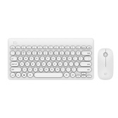 FUDE IK6620 Ultra Slim 2.4G Ensemble clavier de souris sans fil