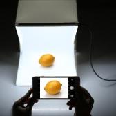 折り畳み式ポータブルミニ写真LEDライトボックススタジオ