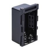 4pcs NP-F750 AA Bateria Battery Case Titular Poder como NP-F750 Bateria Série de LED Luz de Vídeo Painel / Monitor de