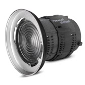 Aputure Fresnel Monte com lente ajustável Light-Shaping Ferramenta para Aputure Luz Tempestade COB 120T 120D e outros Bowens Monte Lights - 12 a 42 ° Ângulo de feixe 14000lux@0.5M para 67000lux@0.5M