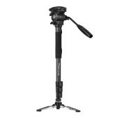 Weifeng WF-3958M Monopod portátil profesional de la cámara de la aleación de aluminio