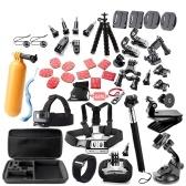 45 dans 1 Caméra Accessoires Cam Outils pour la Photographie En Plein Air Caméras Protection Outil pour Gopro Hero 5 4 3 2 1 Xiaomi Yi Xiaomi Yi 4 k SJCAM SJ4000 SJ5000 SJ6000 SJ7000 EKEN H9R H8W
