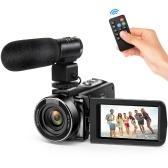 Caméra vidéo numérique Andoer FHD 1080P