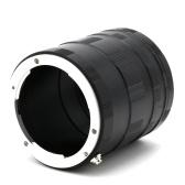 Металлическая ручная фокусировка Макросъемные кольца для пробирок Адаптер объектива для Olympus OM 4/3 DSLR Camrea