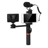 ViewFlex VF-H6 Smartphone Video Rig Hand Grip Handle Stabilizer Kit
