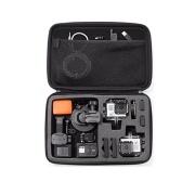 Bolsa de almacenamiento anti-shock portátil de tamaño opcional para Sports Cam Gopro Accesorio Black Camera Case
