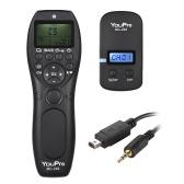 YouPro MC-292 DC2 2.4G Télécommande sans fil LCD Timer Déclencheur Récepteur Récepteur 32 canaux pour Nikon D750 D7200 D7100 D7000 D610 D600 D5500 D5300 D5200 D5100 D5000 D3300 D3200 D3100 D90 DF P7700 Caméra
