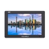 FEELWORLD FW703 Monitor de video en cámara de 7 pulgadas y 4 pulgadas