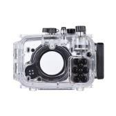 MEIKON SY-15 40 m / 130 pies bajo el agua a prueba de agua carcasa de la cámara caja de la cámara a prueba de agua transparente para Sony RX100 III