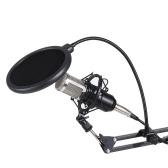 Kit de microphones à condensateur pour enregistrement avec diffusion en direct de studio professionnel