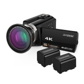 Andoer HDV-534K 4K Videocamera digitale WiFi 48MP