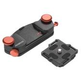 Andoer металла Quick Release камеры Пояс ремень пряжки Кнопка Маунт Зажим для Canon Nikon Sony DSLR фотокамеры Макс. Грузоподъемность 20кг