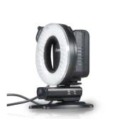 Aputure Amaran ハロー HN100 CRI 95 + ニコン D7100 D7000 D5200 D5100 D800E D800 D700 D600 D90 カメラ用 LED リング フラッシュ ライト