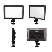 Luxpad22 Lampe Vidéo 11W 112-LED Ultra Mince Pro pour Reflex Nikon Canon Caméscope DV