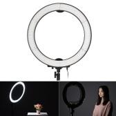 LA Andoer - 650D 5500 K 40W Ring Light Studio photographique numérique avec 600LED lumières ajustement Stepless W / chiffon et sac
