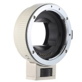 Second Hand Andoer Auto Focus AF EF-NEXII Adapter Ring for Canon EF EF-S Lens to use for Sony NEX E Mount 3/3N/5N/5R/7/A7/A7R/A7S/A5000/A5100/A6000 Full Frame