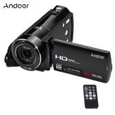 "Cámara de video digital HD HD-V7 1080P Full HD de segunda mano Cámara de video Max. Zoom digital de 24 megapíxeles 16 × con 3.0 ""pantalla LCD giratoria compatible con detección de rostros"