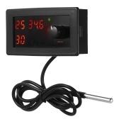 Contrôleur de température de thermostat de refroidissement / chauffage numérique DC12V