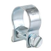 135pcs良質亜鉛メッキホースクランプ8-18ミリメートル