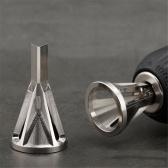 Outil de chanfreinage en acier inoxydable, outil d'ébavurage externe