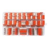 75pcs câble de connecteur de câble connecteurs de boîte universelle de jonction universelle