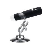 ワイヤレスWi-Fiデジタルズーム顕微鏡ハンドヘルドルーペ2MPカメラiOS / Android電話タブレット用8-LEDライト虫眼鏡1000X倍率