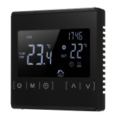 Electric Floor Heating Temperature Controller LCD Touch Screen Thermostat