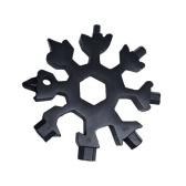 18 в 1 Многоцелевой инструмент для отвертки Снежинка из нержавеющей стали