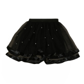 Vêtements filles enfant hiérarchisé Tulle jupe maille perles couleur unie doux enfants Cute Princess Tutu Net fil jupes
