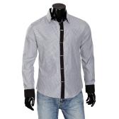 Mens Dress Shirts Stripe