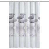 Htovila 72 * 72 '' Impresso Poliéster impermeável impermeável cortina de chuveiro cortina de banheiro decorativo com 12pcs ganchos