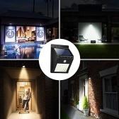 Sensore di movimento a 20 LED ad energia solare da parete