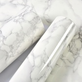 3m Marble Pattern Water-resistant Moistureproof Removable Self Adhesive Wallpaper