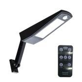 Éclairage imperméable extérieur à lumière solaire de 900lm LED