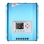 Decdeal 30A MPPT régulateur de charge solaire régulateur de charge de batterie 12V / 24V / 48V avec affichage LCD Protection contre les surcharges Enregistrement des données