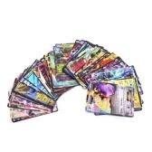 60PCS EX GXメガポケモンゲーム遊び遊び紙ギフトキッズ子供英語版カード