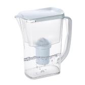 Botella de agua de jarra de filtro de agua transparente jarra de agua con filtro de carbón Filtro de agua de purificador de agua simple filtro de carbono con elemento de filtro